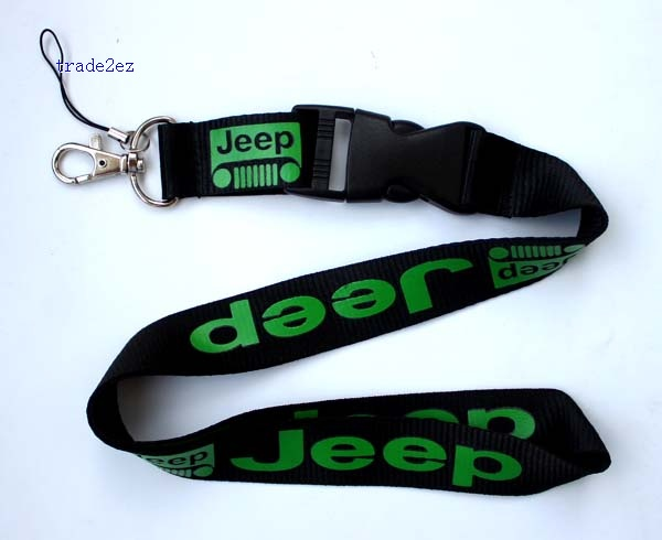 Jeep lanyard Black Green