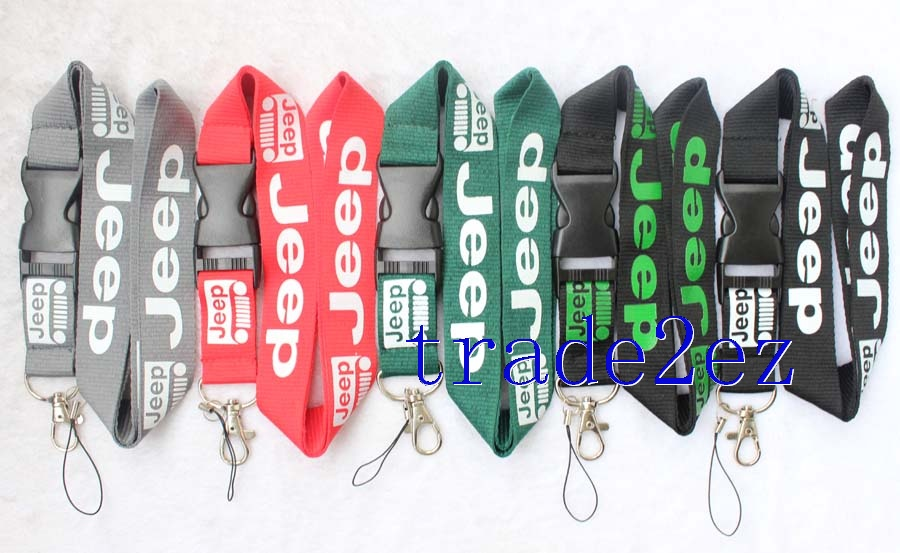 Jeep lanyard Black Green Red