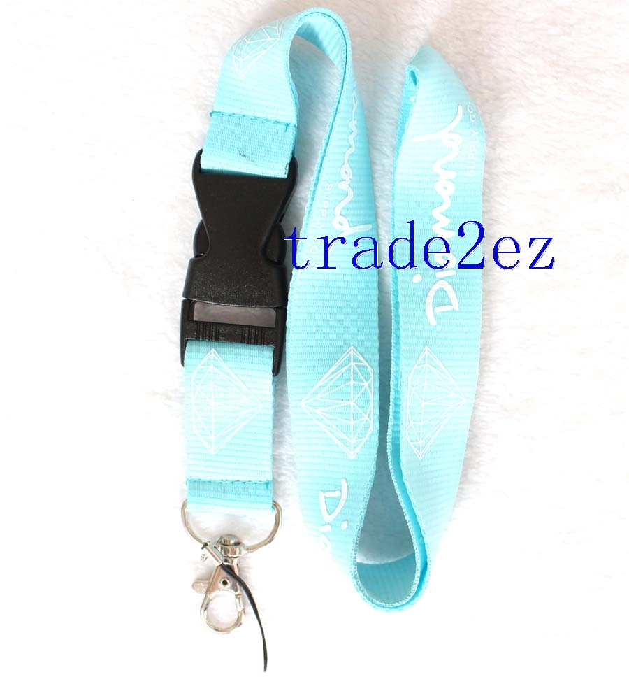 Diamond lanyard Blue