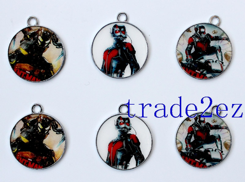 Marvel Comics Ant-Man Metal Round Pendants