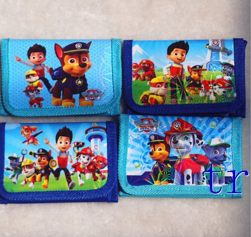 Paw Patrol Snow Slide Trifold Wallet