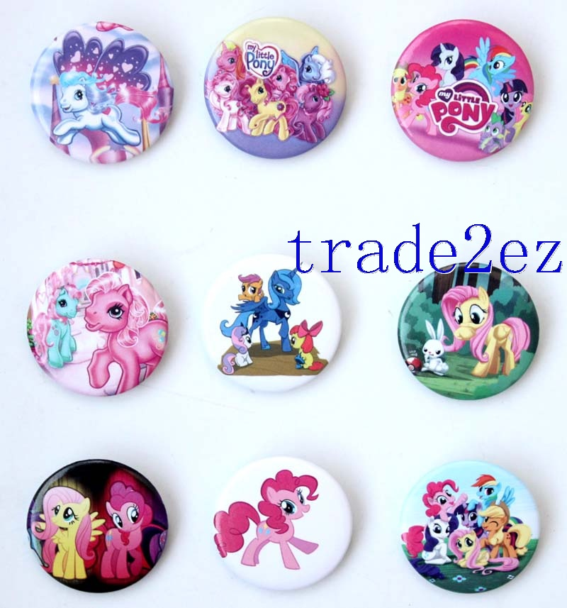 Animation My Little Pony 3cm Cartoon Badge & Buttons