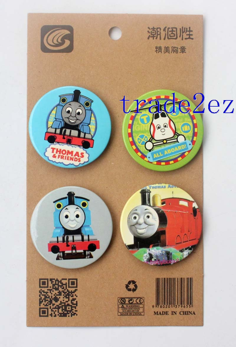 Thomas & Friends 4.3CM Cartoon Badge and Buttons
