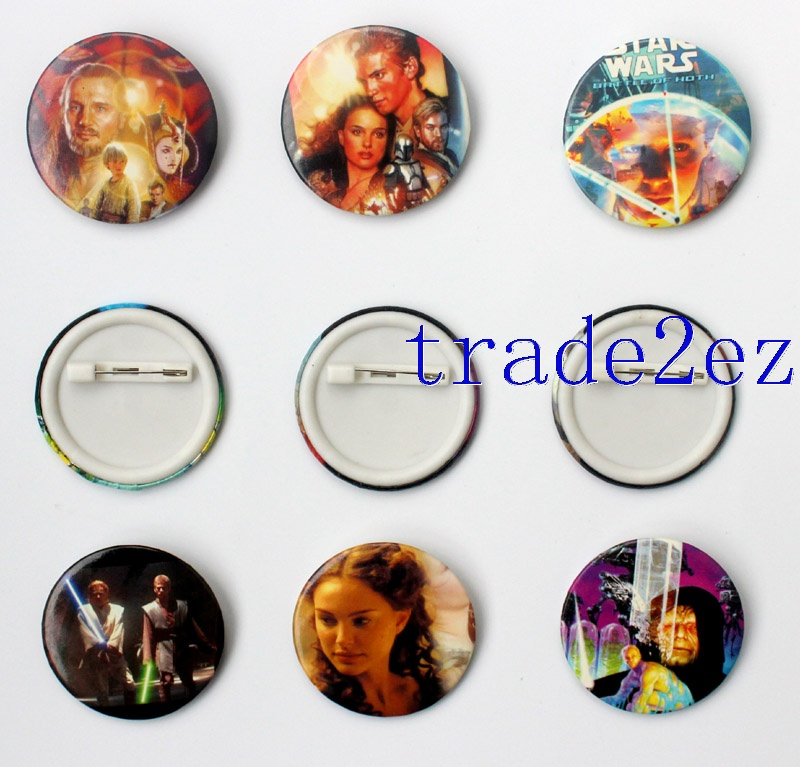 Movie Star Wars 4.5cm Cartoon Badge and Buttons