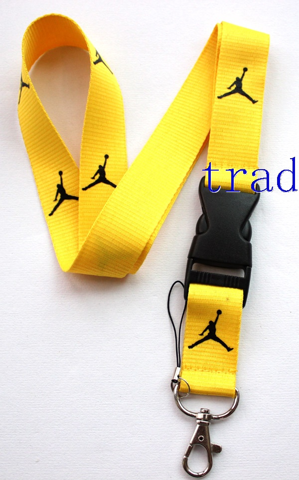 Jordan lanyard Yellow Black