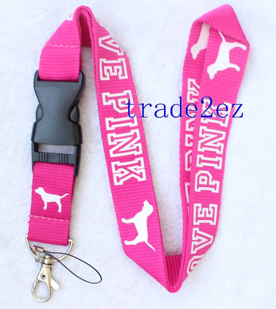 Love Pink Lanyard VS