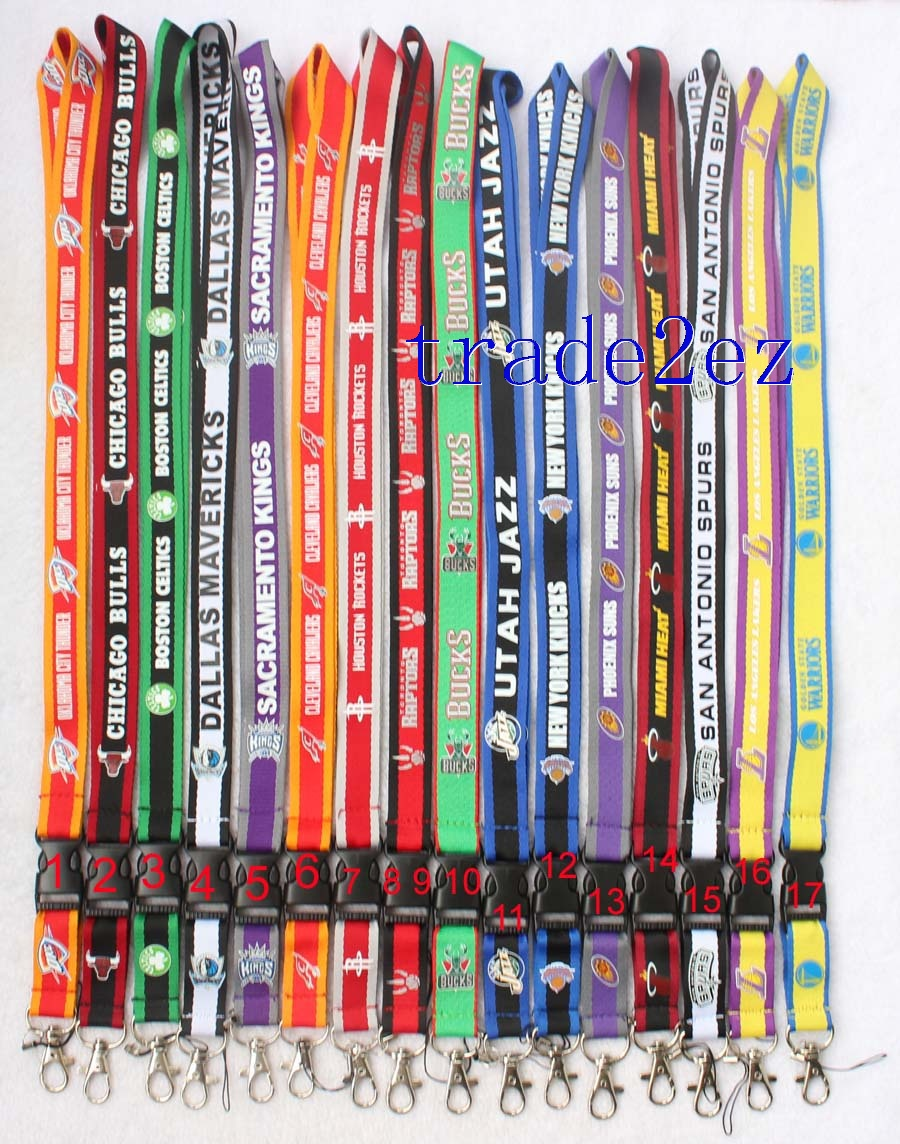 NBA Basketball Team Lanyard