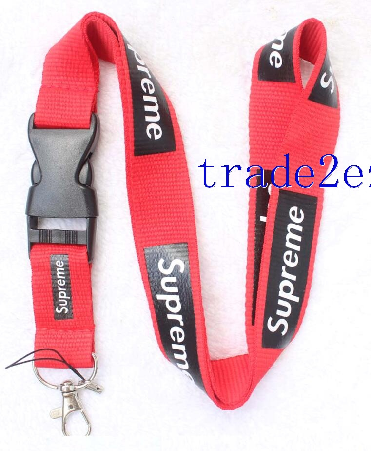 Supreme sup Lanyard Red/Black