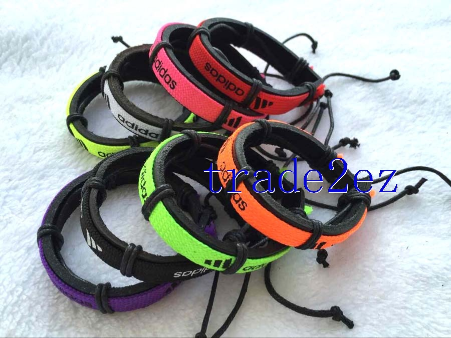 Adidas Tribal Leather Bracelets