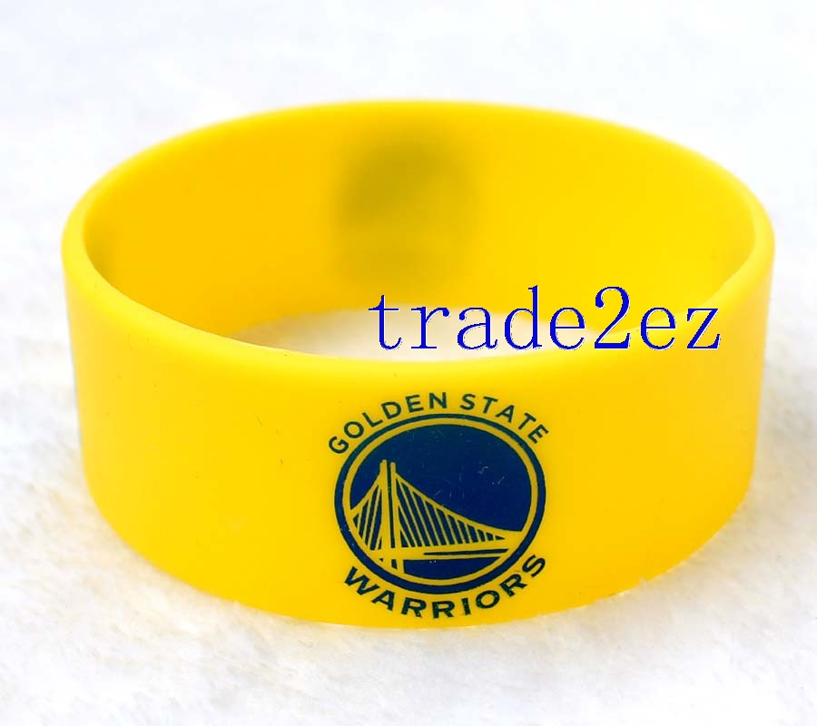 Golden State Warriors Wristband Silicone Bracelet