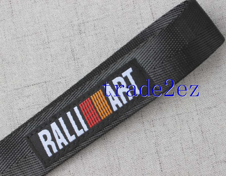 Wristband black RALLI ART