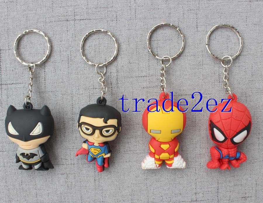 Key Chain A 12-piece Avenger Alliance Shape