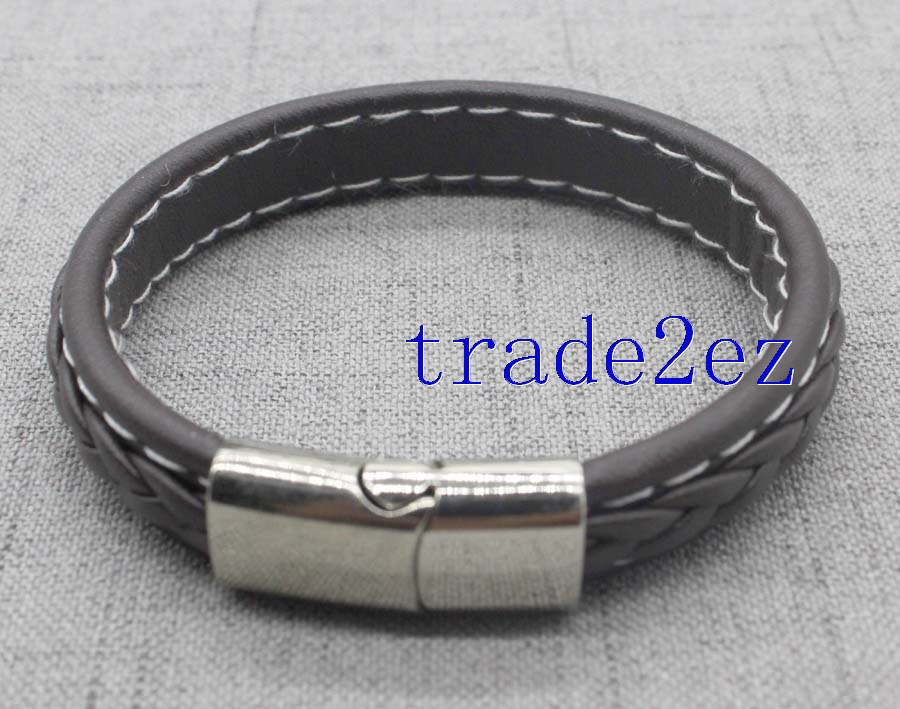 Three color leather bracelets