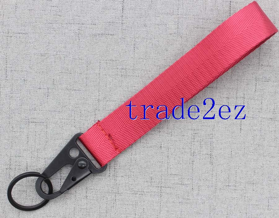 Wristband Red keychains