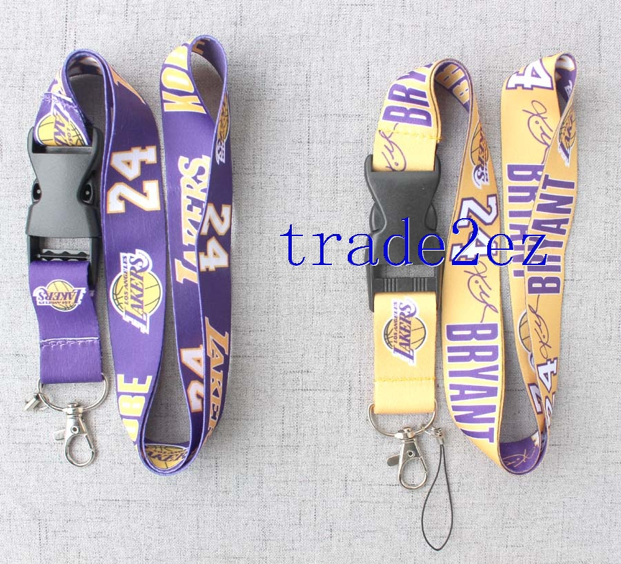 Kobe Bryant Lanyard Los Angeles Lakers