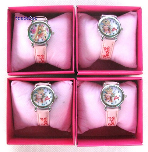Barbie cartoon children watches students wristwatch watches