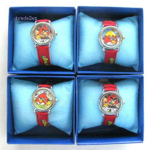 Angry Birds watch Quartz Steel Wrist Watch