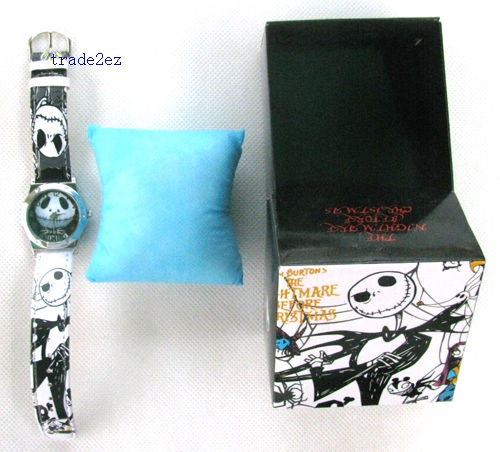 The Nightmare Before Christmas Cartoon Girl`s Watches
