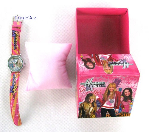 Hannah Montana Watch Free boxes