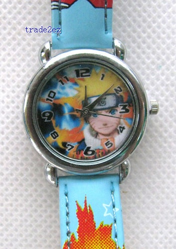 Naruto Watch with boxes Christmas gift high qulaity for kids