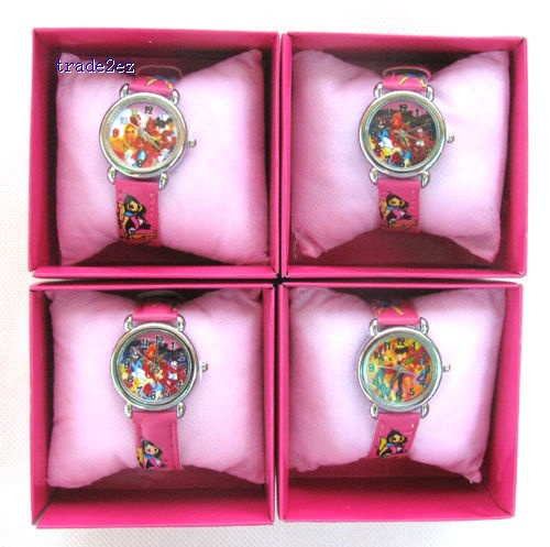 Winx Club Wristwatches Watch Free boxes