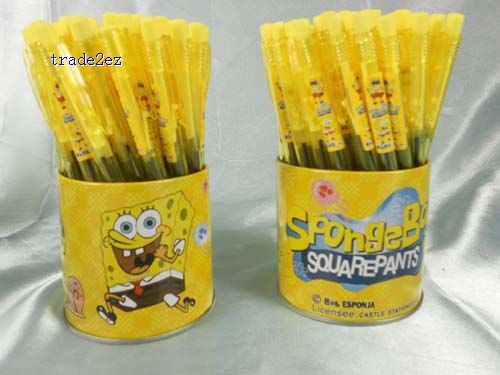 Spongebob ball point ballpoint biro ball-point pen pens stationery
