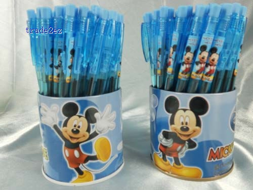 Mickey Mouse ball point pen, Cartoon style ball pen