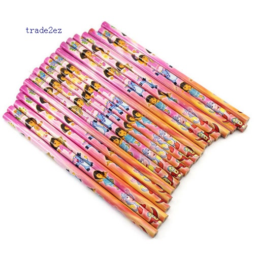 Dora Best Cartoon Stationery Quality Pencils