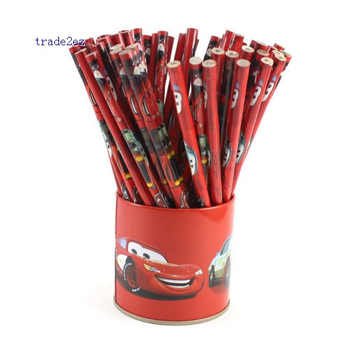 Pixar Car Wooden Pencil Cartoon Animal Pencil preschool education pencil