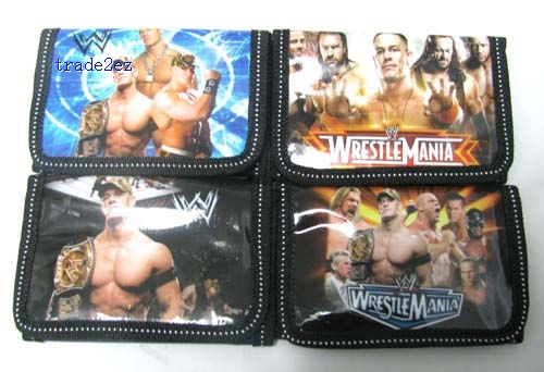 WWE Wrestling wallet coins bag mix order