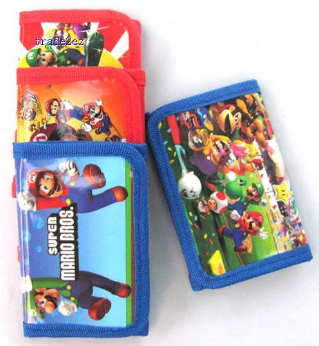 Super Mario Coin Purse cartoon wallets purses