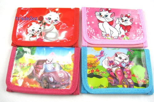 Marie Cat Girl`s cartoon Purses coin Wallet