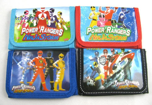 power rangers WALLET BOYS COINS MONEY PURSE CHINA SELLER NEW