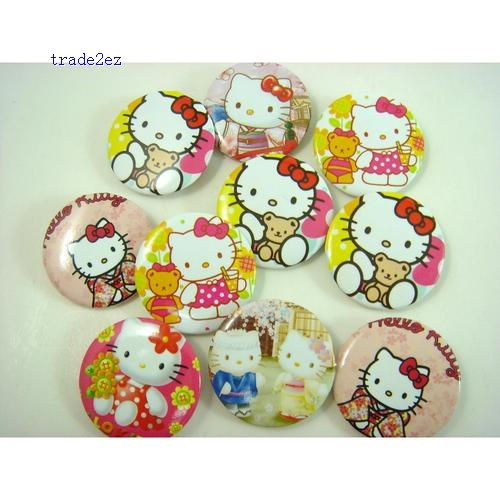 Hello Kitty 2.5 cm badge/pin badge