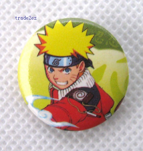 Naruto 2.5 cm cartoon badge/pin badge