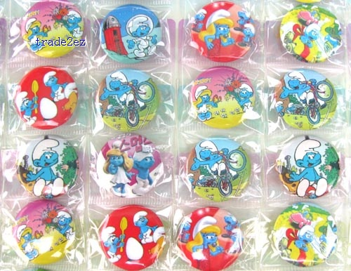 The Smurfs 2.5CM pin badge Cartoon& Anime character