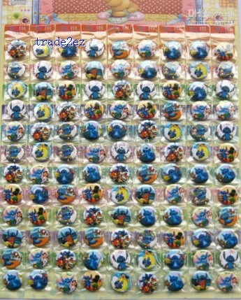 Stitch 2.5CM pin badge Cartoon& Anime character