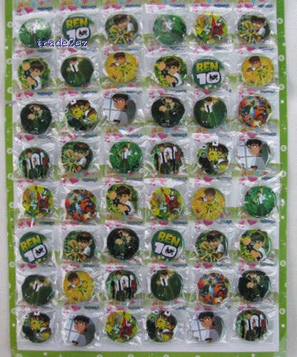 Ben 10 3CM pin badge,brooch,Cartoon & Anime characters Accessories,Children's toys