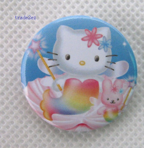 Hello Kitty Badge Button Pin 3cm party products children gifts