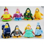 Set 18pc RANDOM Club Penguin 5cm PVC Figure Collection