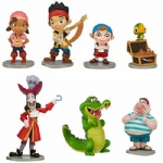 JaKe and the NeVeR LaNd PiRaTeS~IZZY+CUBBY+SKULLY~7 FIGURE