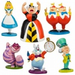 New Movie Alice in Wonderland Figure Set 6pcs