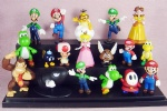 NINTENDO SUPER MARIO BROTHERS LOT 18 FIGURES NEW