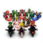 super mario bros kart pull back car 2