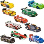 DISNEY CARS 2 DELUXE FIGURE PLAY SET 10 PC