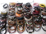 Mixed Style Surfer Cuff Ethnic Tribal Leather Bracelets