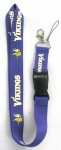 MinnesotaVikings Logo Lanyard/ MP3/4 cell phone/ keychains /Neck Strap Lanyard