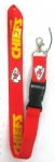 Kansas City Chiefs Logo Lanyard/ MP3/4 cell phone/ keychains /Neck Strap Lanyard