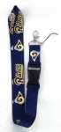 St. Louis Rams Sports Logo Phone Key Chain Neck Strap lanyard ID holders