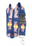 Red Bull Lanyard ID card Phone Strap